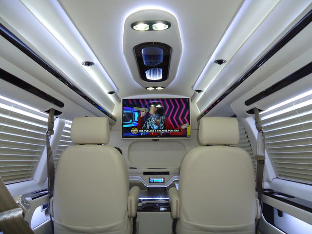 conversion van image of customized amura presidential se limousine