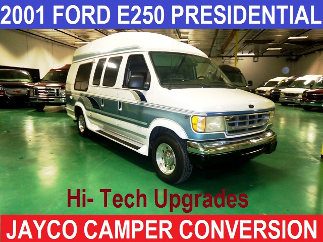 X 2001 Ford E250 JAYCO COMPER CONVERSION VAN