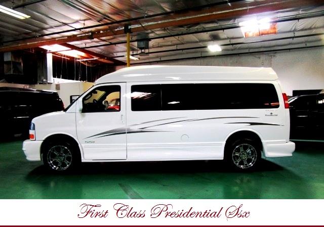 2016 gmc savana presidential conversion van 9 passenger majestic ebay. Black Bedroom Furniture Sets. Home Design Ideas