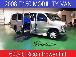 2008 ford e150 - Mobility Conversion Van